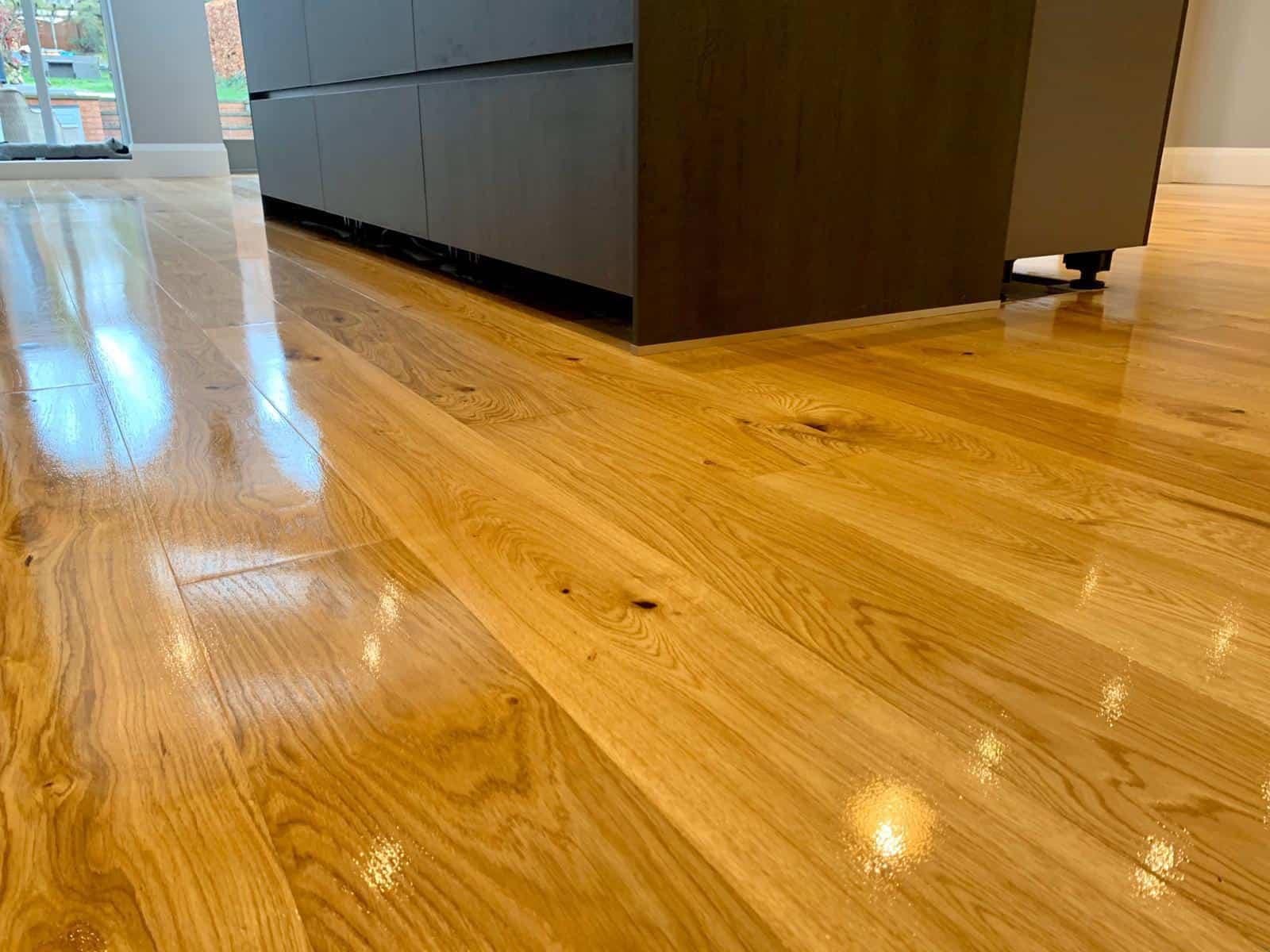 Oak Kitchen Flooring 1
