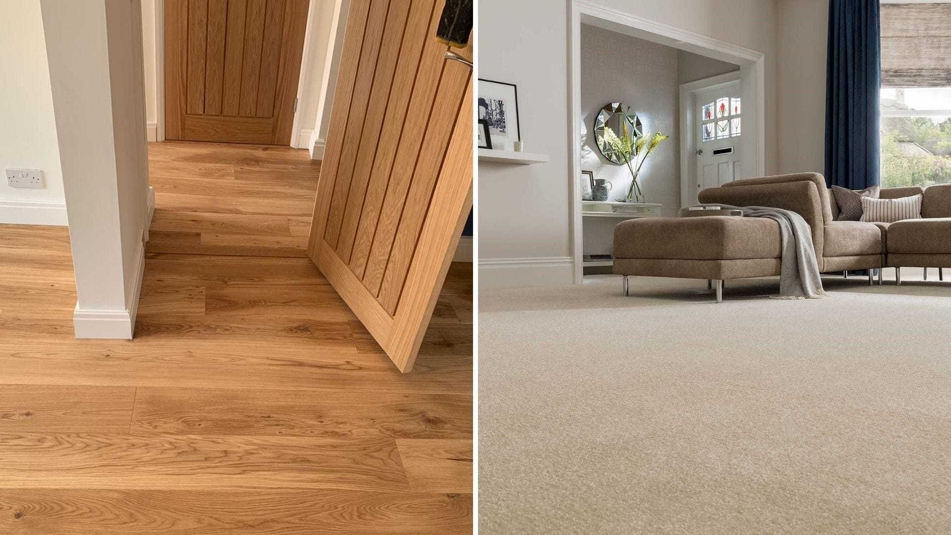 Wood Floors vs Carpets – 5 Huge Differences